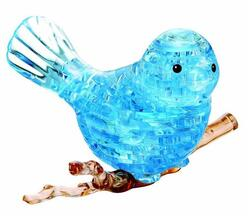 Crystal Puzzle Blue Bird